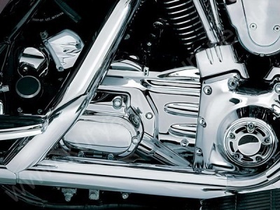 Transmission Shroud for Softail - Kuryakyn