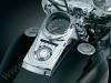 Chromovaný panel přístrojové desky Harley Davidson - Kuryakyn