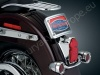 Chromovaný zaoblený rámeček SPZ Harley Davidson