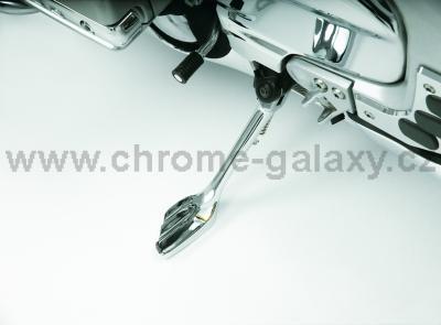 Chromovaný boční stojan Honda GL1800 - Big Bike Parts - Show chrome
