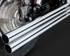Chromovaný VANCE & HINES výfuk Straight-cut pro Honda VT 1100 - RSD