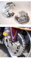 Kryty předních kotoučů pro Goldwing 1800 - Add On