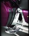 Karbonové protektory bočních kufrů - Big Bike Parts - Show chrome