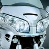 Chromovaný kryt pod světla s LED denním svícením Honda GL - Big Bike Parts - Show chrome