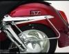 Držák bočních kufrů Honda VTX 1300/1800 - Big Bike Parts - Show chrome