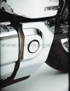Chromovaný kryt rámu Honda VTX 1300 - Big Bike Parts - Show chrome