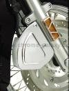 Pravý chromovaný kryt brzdového třmenu Honda VTX 1300 - Big Bike Parts - Show chrome