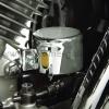 Chromovaný kryt zadní brzdové nádobky Honda VTX 1300 - Big Bike Parts - Show chrome