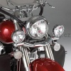 Světelná rampa s halogenovým osvětlením - kit - Big Bike Parts - Show chrome