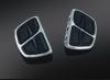 Chromované stupačky řidiče / spolujezdce bez adaptéru - Kuryakyn