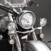Světelná rampa s halogenovým osvětlením - Big Bike Parts - Show chrome
