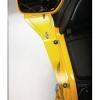 Náhradní žlutý deflektor na pravou stranu - Big Bike Parts - Show chrome