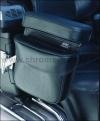 Kapsička na opěrky rukou spolujezdce - ks - Big Bike Parts - Show chrome