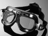 Motocyklové brýle RED BARON, lomené sklo, černé