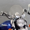 Čiré plexisklo SwitchBlade Chopped Honda
