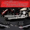 Peacemakers - Chromovaný výfuk Yamaha XVS1100 Dragstar V-Star...