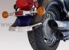 Zadní chromovaný lem blatníku Suzuki - National cycle