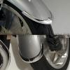 Přední chromované lemy blatníku Honda - National cycle