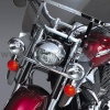 Chromované deflektory Honda - National cycle