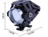Stříbrná univerzální LED světla