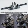 Černá montážní sada k přídavným světlům BMW - National cycle